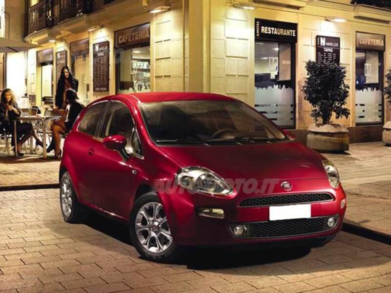 Fiat Punto 1.3 MJT II S&S 95 CV 3 porte Lounge