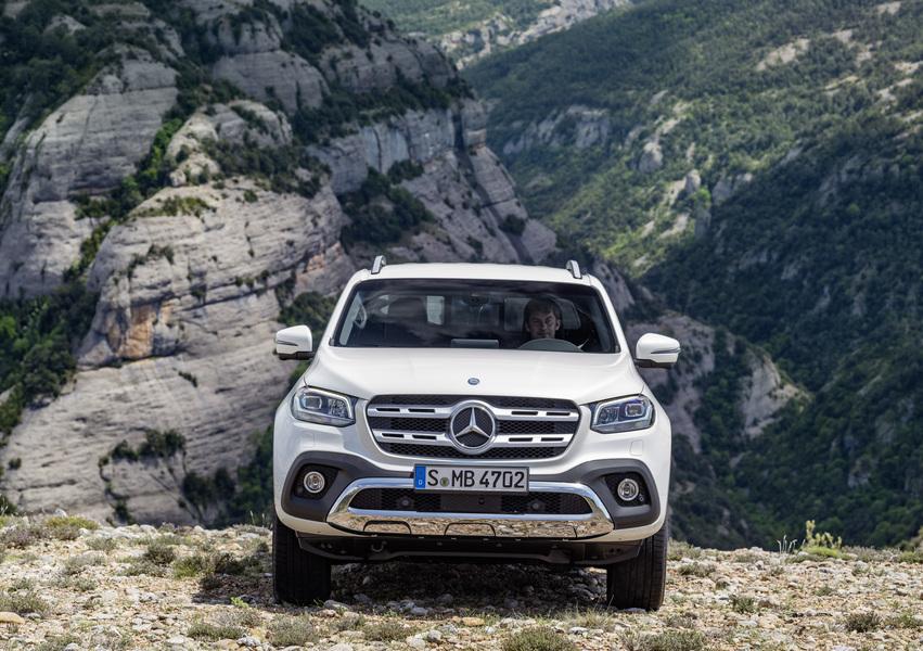 Mercedes-Benz Classe X Pick-up 220 d 4Matic Progressive Business (3)