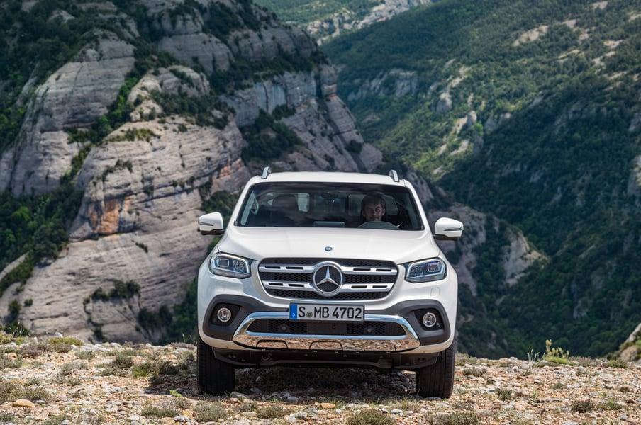 Mercedes-Benz Classe X Pick-up 250 d Progressive Business (3)