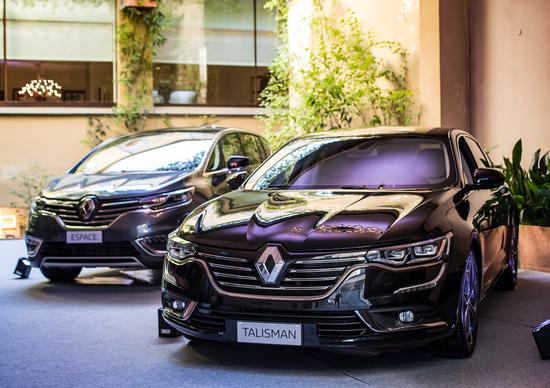 Renault Talisman ed Espace Executive, le professioniste