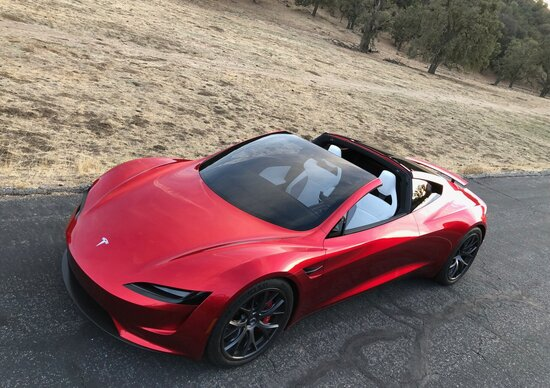 Nuova Tesla Roadster ​the quickest car in the world