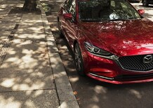 Mazda6 restyling, debutto al Salone di Los Angeles 2017