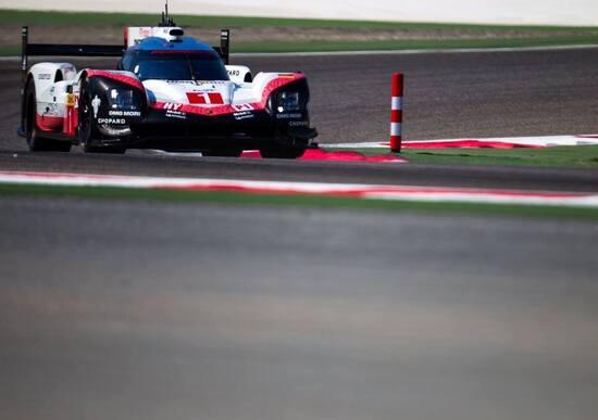 WEC 2017, 6 Ore del Bahrain: pole per Porsche