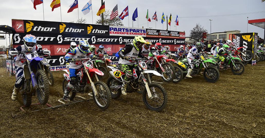 Motocross d'epoca. Al via la mitica Transborgaro 2017