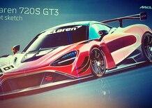McLaren 720 S GT3, prime bozze per la belva da corsa