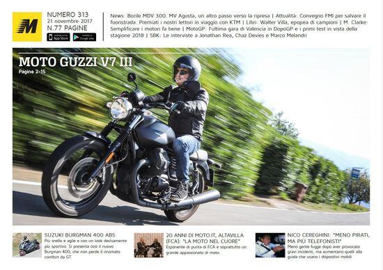 Magazine n° 313, scarica e leggi il meglio di Moto.it
