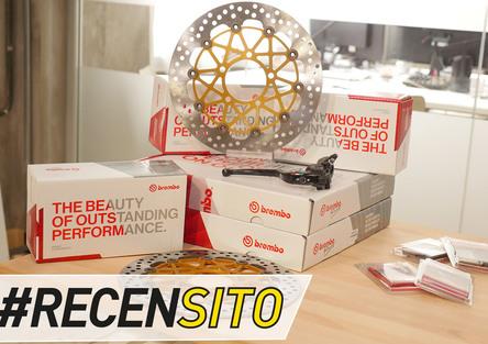 Brembo 19 RCS Corsa Corta. Recensione pompa freno