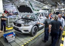 Volvo XC40, iniziata la produzione a Gent