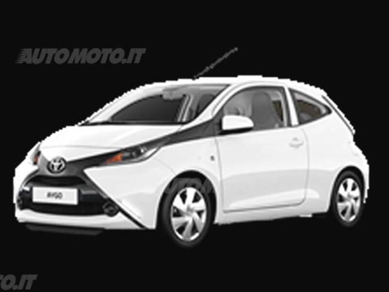 Toyota Aygo 1.0 VVT-i 69 CV 3 porte x-cool MMT