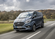 Ford Transit, prova del DNA con 400 kg [Video]
