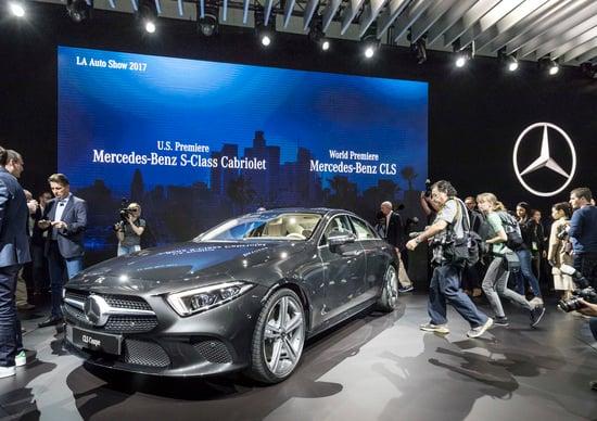 Mercedes CLS, ecco la terza generazione della berlina coupé