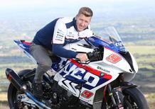 Hutchinson con BMW e TAS al TT 2016