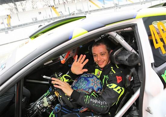 Monza Rally Show 2017, Interviste: Valentino Rossi