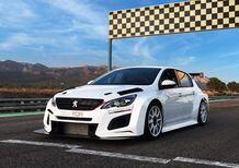 Peugeot 308 TCR: pronta per competere nel 2018