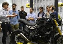 Le BMW G 310 di IED Milano giudicate da Edgar Heinrich