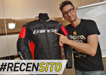 Dainese Racing 3. Giacca in pelle Tutu