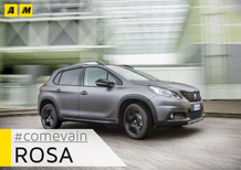 Peugeot 2008 Black Matt: come va… in rosa [Video]