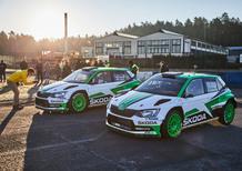 Skoda Rally 2017: iride WRC2 e 14 titoli nazionali