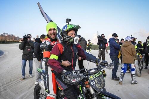Morbidelli e Pasini vincono la 100 km dei Campioni al Ranch di Rossi (8)