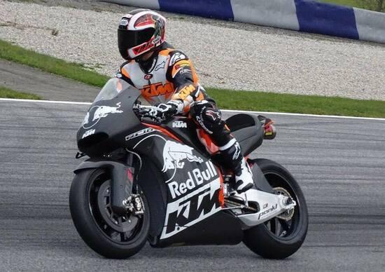 KTM RC16, prime foto della MotoGP di Mattighofen