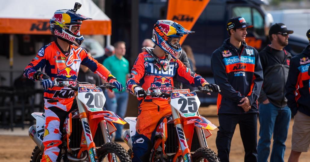 KTM Supercross: il nuovo team USA e la 450 Factory Edition