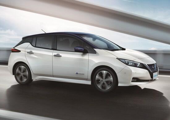 Nissan Leaf, via alla produzione europea