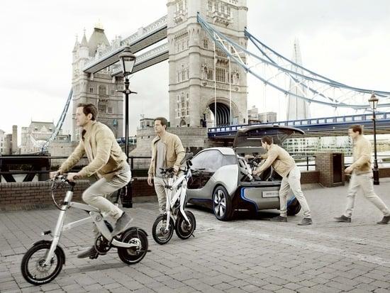 Una proposta Last Mile presentata da BMW nel 2011 con la i3 Concept