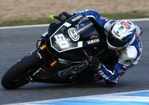 Test SBK Jerez. Le prime foto della Yamaha R1 2016