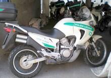 Le Belle e possibili di Moto.it: Honda Transalp 650 Polizia Locale