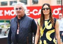 L'ex-dirigente della F1 Flavio Briatore lascia la moglie, Elisabetta Gregoraci