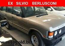 La Range Rover di Berlusconi è in vendita