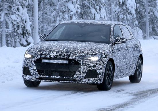 Audi A1, le foto spia