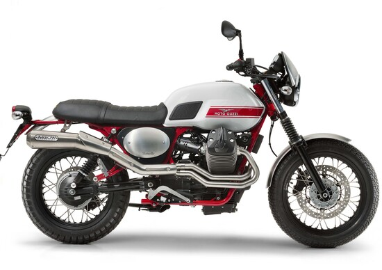 EICMA 2015: Moto Guzzi V7-II Stornello