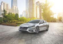 Honda Insight, la terza generazione al Salone di Detroit 2018