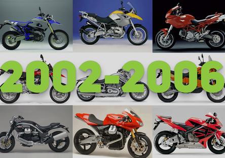 Qual è stata la moto più innovativa del periodo 2002-2006?