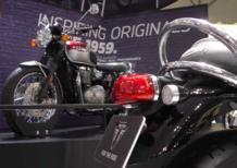 EICMA 2015: il video delle Triumph Bonneville Classics