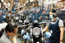 La produzione Triumph a Chonburi