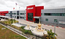 Lo stabilimento Ducati