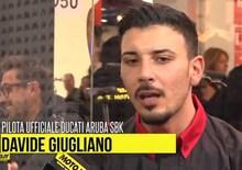 """EICMA 2015, Davide Giugliano: """"Non vedo l'ora di andare a Jerez"""""""