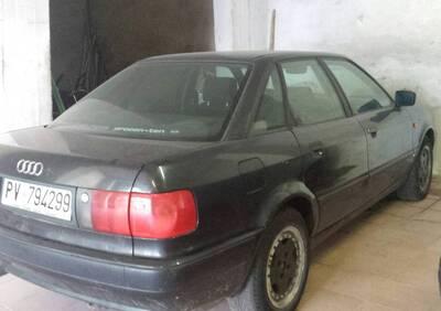 Audi 80 d'epoca del 1992 a Garlasco