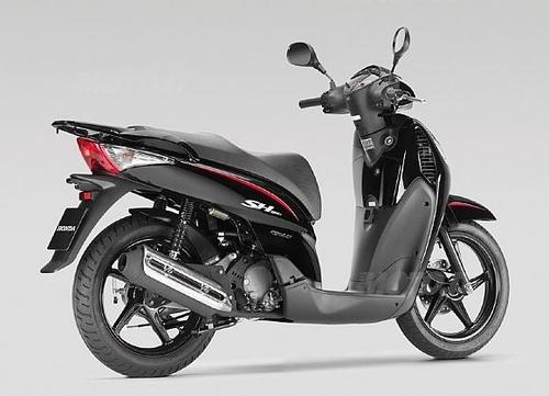 SH 125 Sporty Black