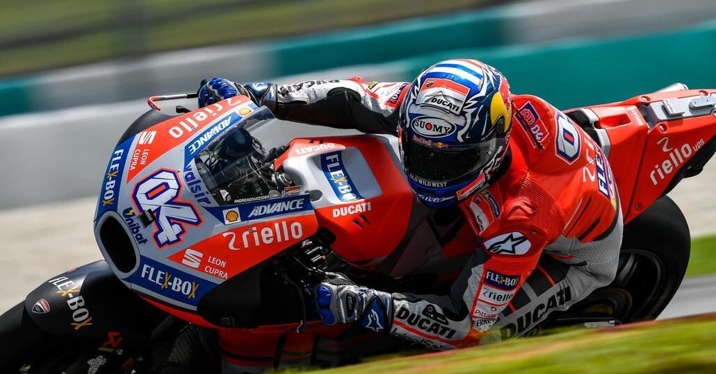 """MotoGP. Dovizioso: """"Bene. Ma non basta per essere sereni"""""""