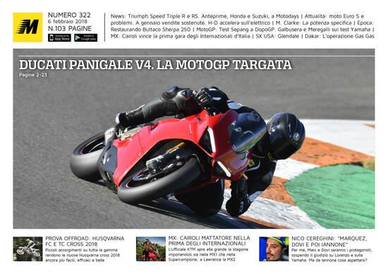 Magazine n° 322, scarica e leggi il meglio di Moto.it