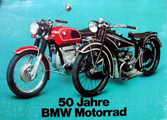 Anniversario 50 anni BMW Motorrad 1923 - 1973