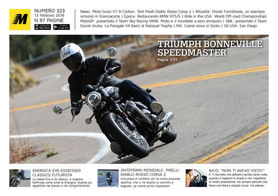 Magazine n° 323, scarica e leggi il meglio di Moto.it
