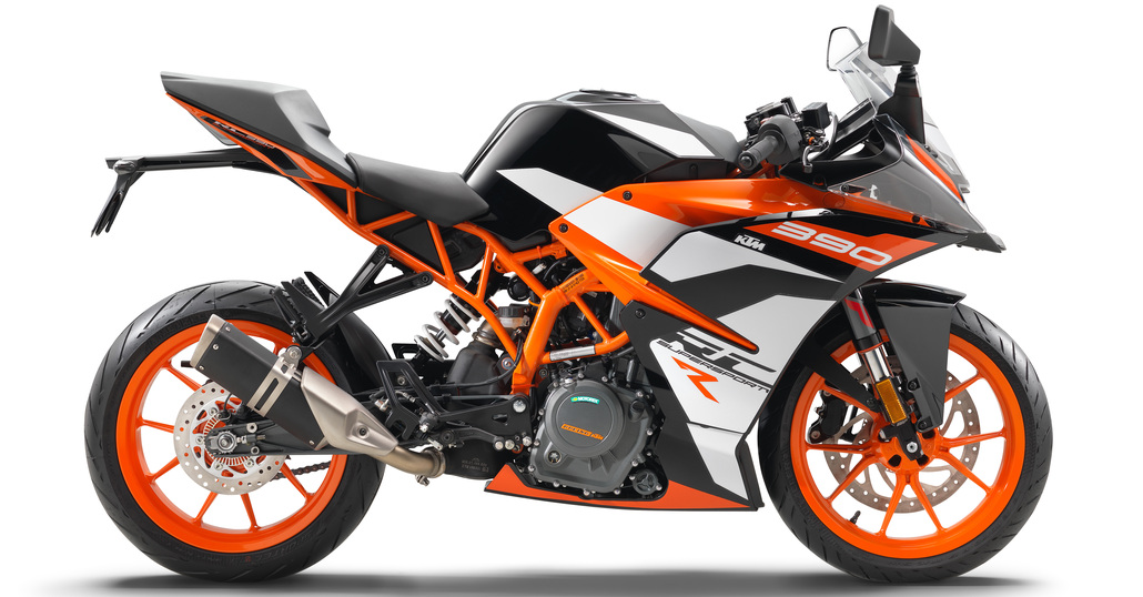 Nuova KTM RC 390R e Kit SSP300 Race