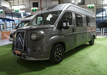 Citroen Type H 70th Anniversary Campervan: il mito rivive e parla (anche) italiano [video]