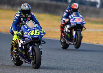 MotoGP test, Day 3. Rossi: Un po' meglio. Vinales: Mai così male