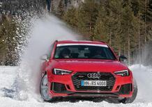 Audi RS 4, 450 CV alla 20quattro Ore delle Alpi 2018 [Video]