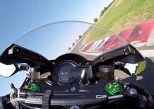 Kawasaki H2 e H2R: La sfida in pista (Video)